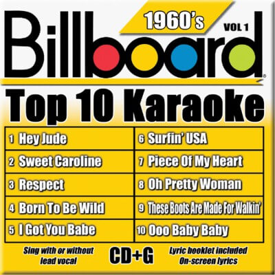 Billboard 60's Karaoke - Vol 1