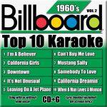 Billboard 60's Karaoke – Vol 2