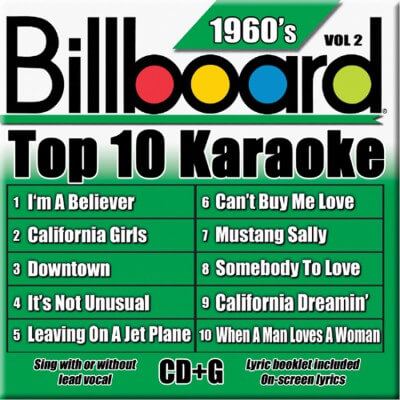 Billboard 60's Karaoke - Vol 2