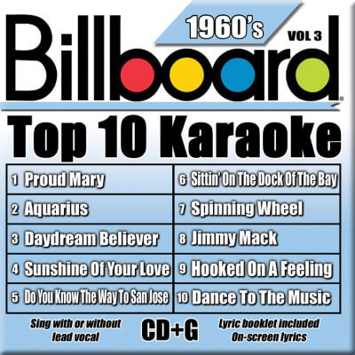 Billboard 60's Karaoke - Vol 3