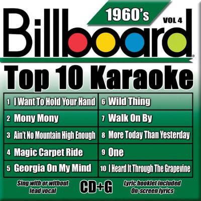 Billboard 60's Karaoke - Vol 4