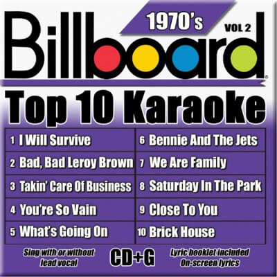 Billboard 70's Karaoke - Vol 2