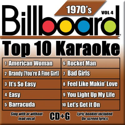 Billboard 70's Karaoke - Vol 4