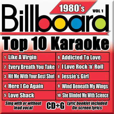 Billboard 80's Karaoke - Vol 1