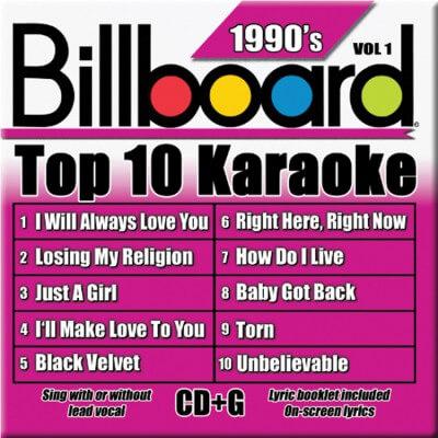 Billboard 90's Karaoke - Vol 1