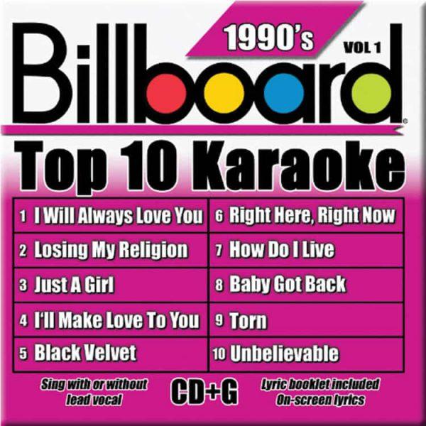 Billboard 90's Karaoke – Vol 1