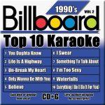 Billboard 90's Karaoke – Vol 2