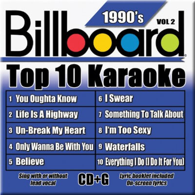 Billboard 90's Karaoke - Vol 2
