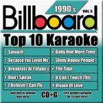 Billboard 90's Karaoke – Vol 3
