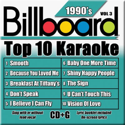 Billboard 90's Karaoke - Vol 3