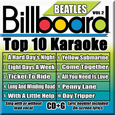 Billboard Beatles Karaoke - Vol 2