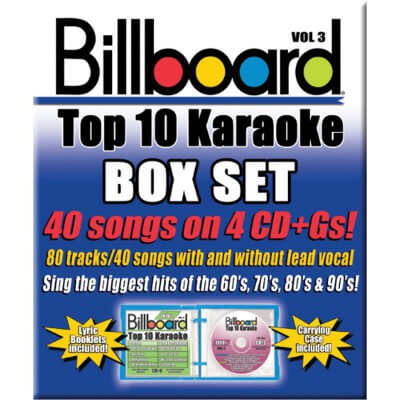 Billboard Top 10 Karaoke - Vol 3