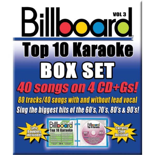 Billboard Top 10 Karaoke – Vol 3
