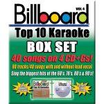 Billboard Top 10 Karaoke – Vol 4