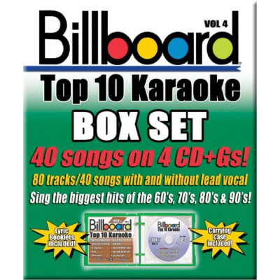 Billboard Top 10 Karaoke - Vol 4