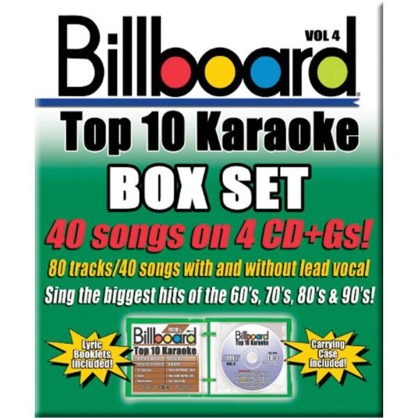Billboard Top 10 Karaoke – Vol 4