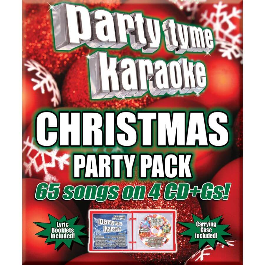 Karaoke Christmas Party.Christmas 65 Song Party Pack