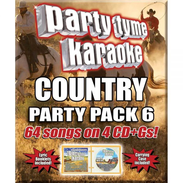 COUNTRY PARTY PACK 6