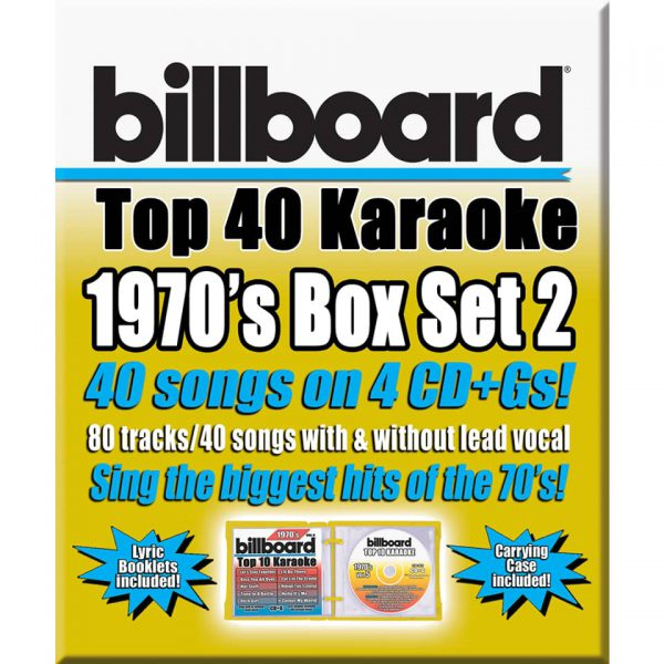 BILLBOARD 1970's BOX SET 2