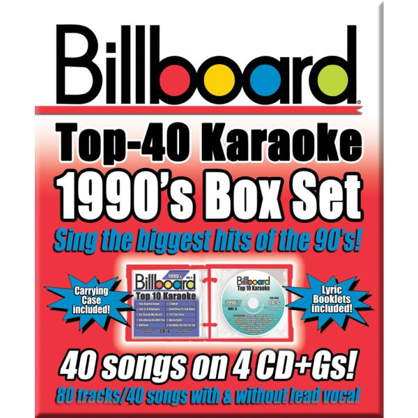 Billboard 90's Box Set